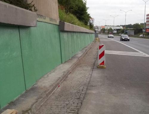 Sanace opěrné zdi – 5.května